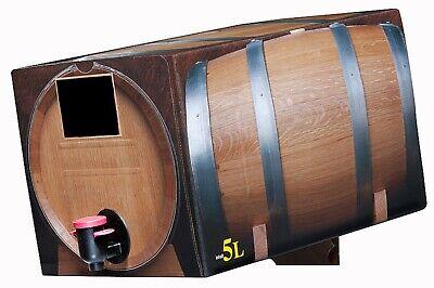 Pfälzer Dornfelder Spätburgunder Rotwein halbtrocken 4x 5l Bag in Box