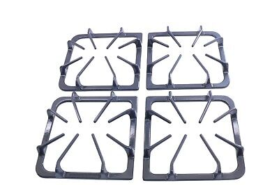 Burner Grate Kit in Set of 4 Replacement for Frigidaire AP3965768, 318221523 - Replacement Burner Grates