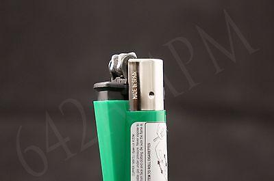 4 pcs New Refillable Clipper Full Size Lighters Stoned Design