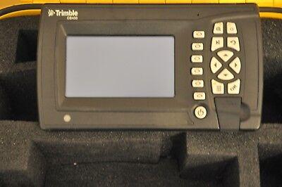 Trimble Cat Cb450 Machine Control Display Gcs900 2d Code 12.81 Grader Dozer