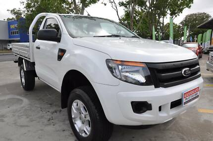 2014 Ford Ranger PX XL Hi-Rider Cab Chassis Single Cab auto Acacia Ridge Brisbane South West Preview