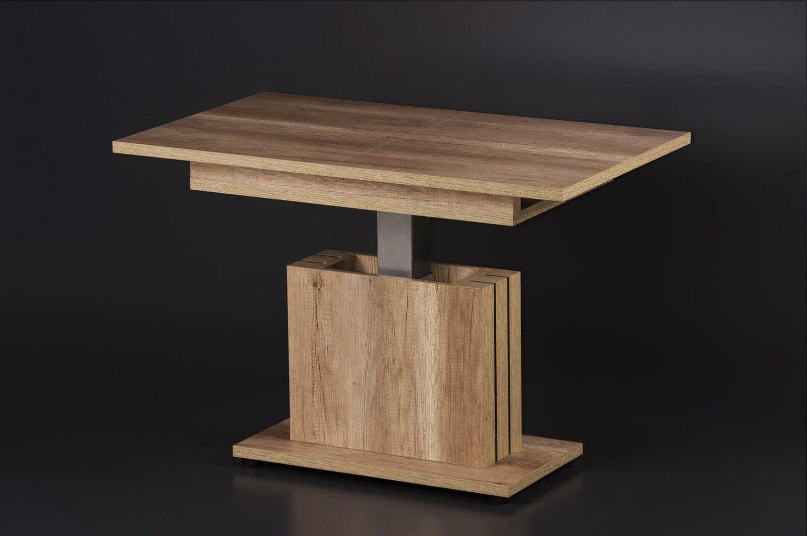 couchtisch ausziehbar h henverstellbar wohnzimmertisch funktionscouchtisch tisch eur 299 00. Black Bedroom Furniture Sets. Home Design Ideas