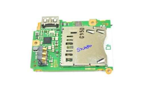 Canon SX280 Main Board MCU Processor Replacement Repair Part DH3382