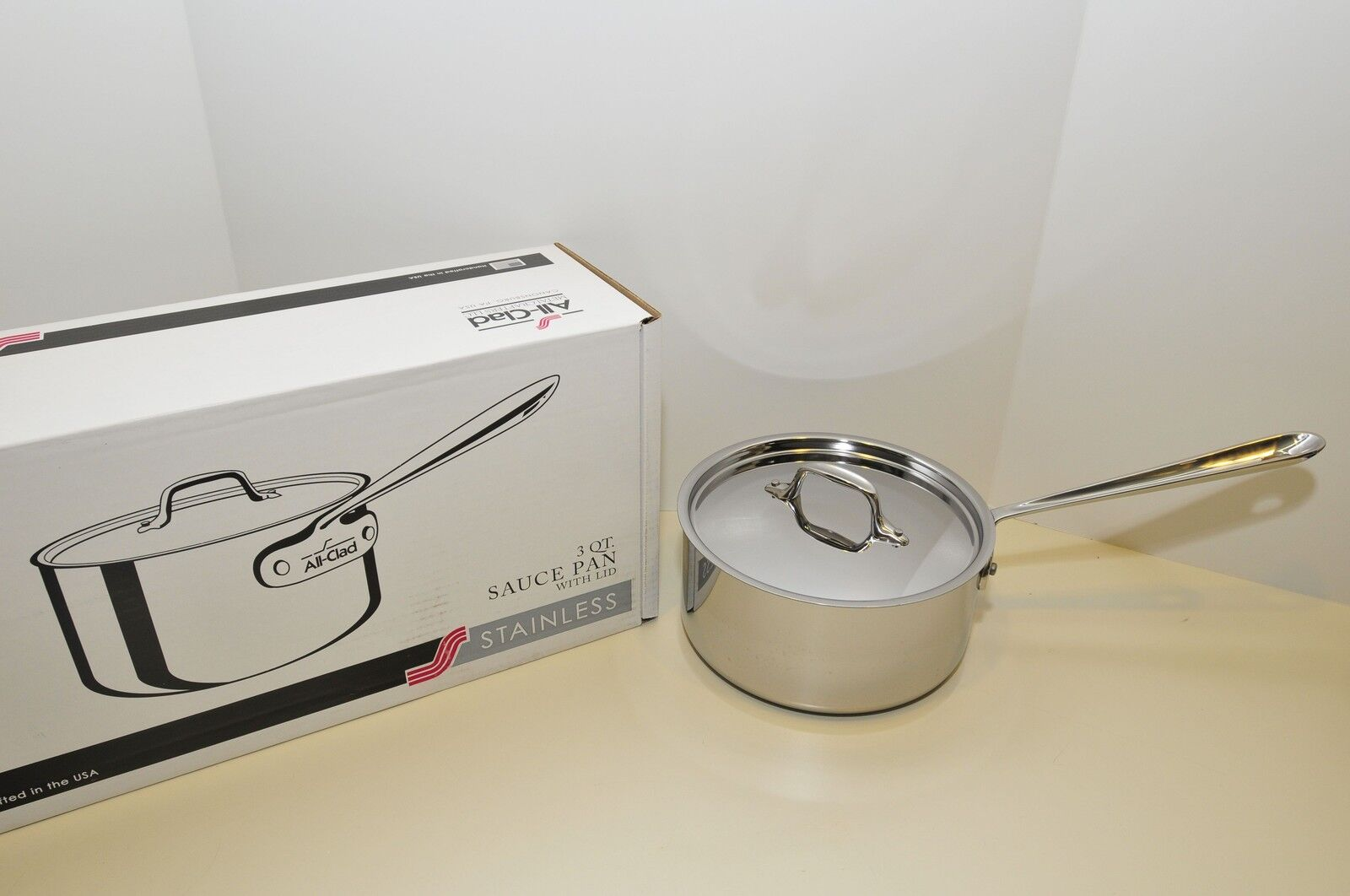 All-Clad 4203 Stainless Steel Tri-Ply Bonded Dishwasher Safe