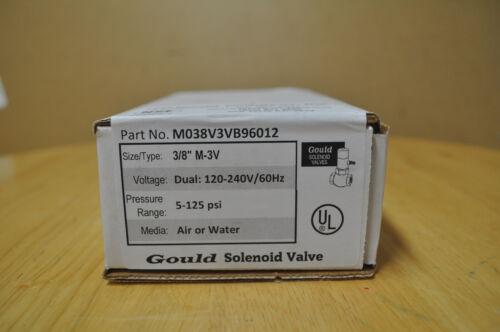 Gould Solenoid Valve MO38V3VB96012   NEW