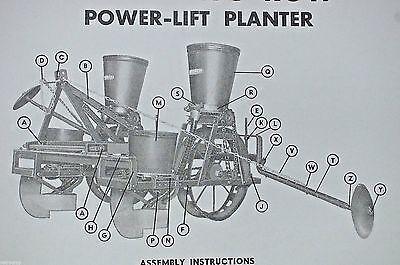 Burch Plow Works Tru-Blue Corn Seed Planter Owner's Manual & Parts List Reprint