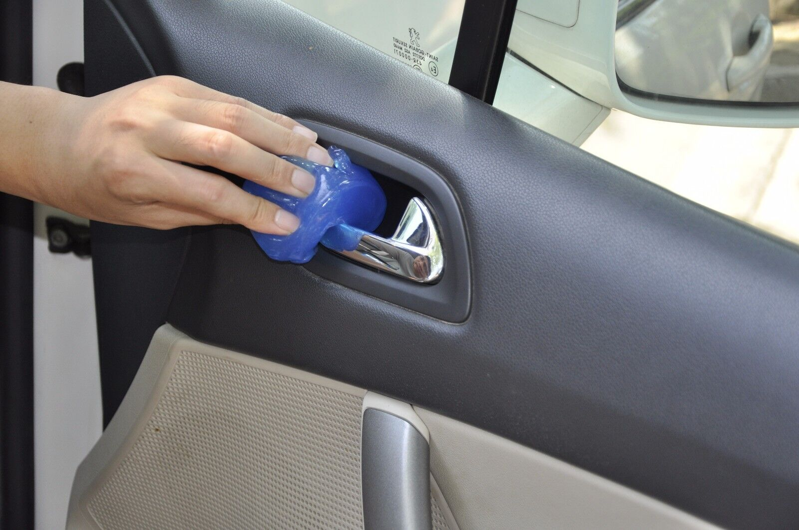 car clean glue gum gel cleaning air outlet vent dashboard interior cleaner tool picclick. Black Bedroom Furniture Sets. Home Design Ideas