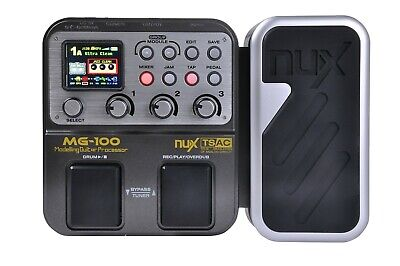 Used, NUX MG-100 Multi-Effects Guitar FX Processor for sale  Shipping to India