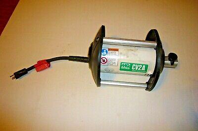 15 Amp Motor 1 Phase 1-3//8 Pencil Head AC//DC OZTEC 1.8SV-FSP02ST-HP137ST Stow Type Concrete Vibrator 2 Pencil Shaft