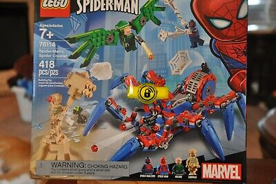 LEGO Spider-Man's Spider Crawler Super Heroes (76114) 418 pcs - NEW