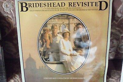 SOUNDTRACK - BRIDESHEAD REVISITED - CHRYSALIS - GATEFOLD - 1981 - £7