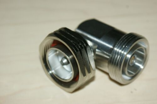 7/16 DIN Male 7/16 DIN Female Right Angle 90 RF Adapter
