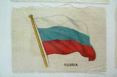 B.D.V. Cigarettes Silk FLAG- RUSSIA FLAG (apx.7x5 cm)