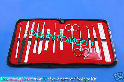 Dissecting Kit Set Anatomy Biology Student Lab Tool Teachers Choice-odm-593