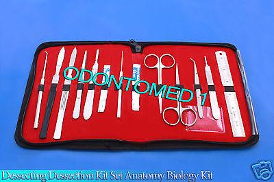 Dissecting Kit Set Anatomy Biology Student Lab Tool Teachers Choice-odm-593