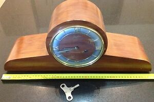 Vintage & Rare Junghans Mantle Clock - BEAUTIFUL!!! Epping Whittlesea Area Preview
