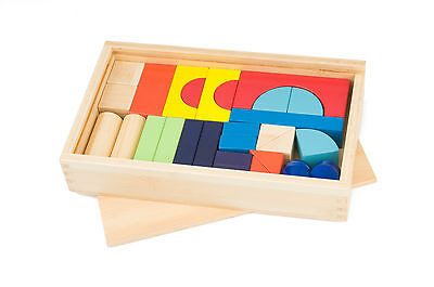 Alex Toys Colourful Bamboo Building Blocks For Kids - BRAND NEW