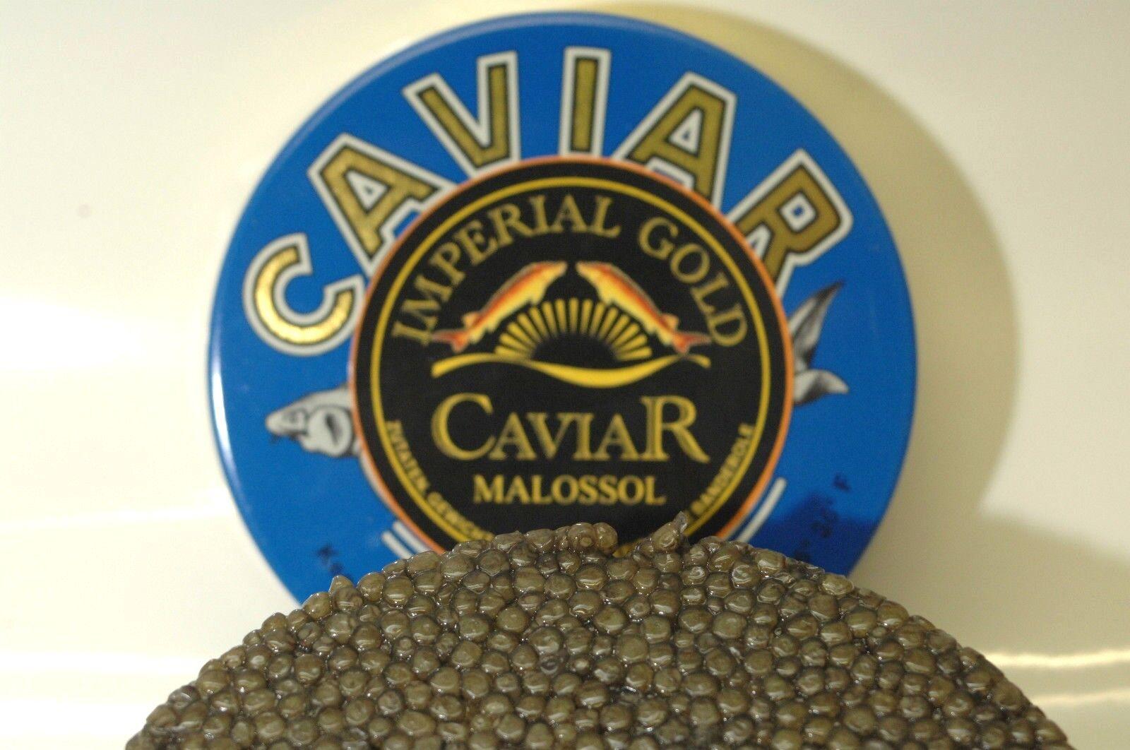 250 g Imperial Oro Caviale Auslese, Acquacoltura + 2 madre di perla-cucchiaio