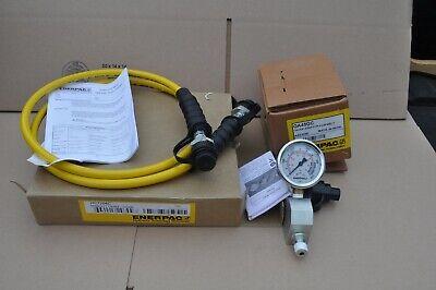 Enerpac Hc7206c Hose W Ga45gc Gauge And Coupler New