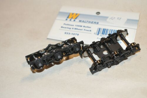 HO PARTS Walthers 933-1079 Pullman 106W heavyweight passenger car trucks 6-wheel