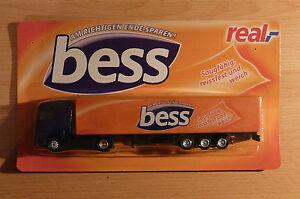 Modellino-autocarro-per-birra-Rimorchio-trasporto-MERCEDES-ACTROS-Bess-Real-HS-8