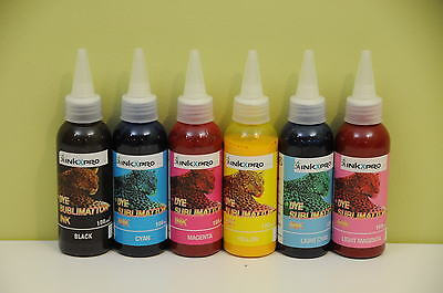 INKXPRO Brand 600ml Professional Dye Sublimation Ink for Epson 1400 1430 CISS