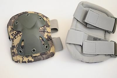 9MM TACTICAL X-TAK KNEE PADS DIGITAL CAMO SIZE LARGE NEW