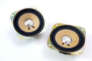 2x-Pioneer-ts-100-vintage-hifi-FULL-RANGE-komplettboxen-Coche-Altavoz-enmiendas