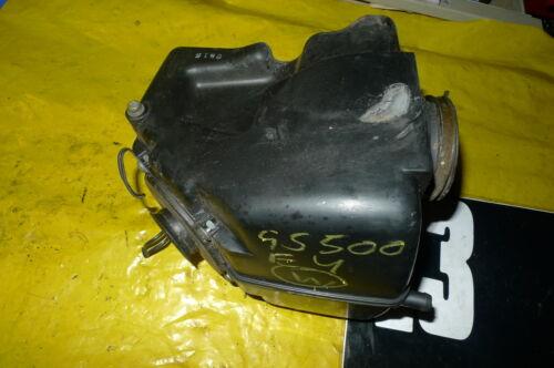 SUZUKI GS500 E GS500E 2000   COMPLETE AIR BOX AIRBOX  (CON-D)