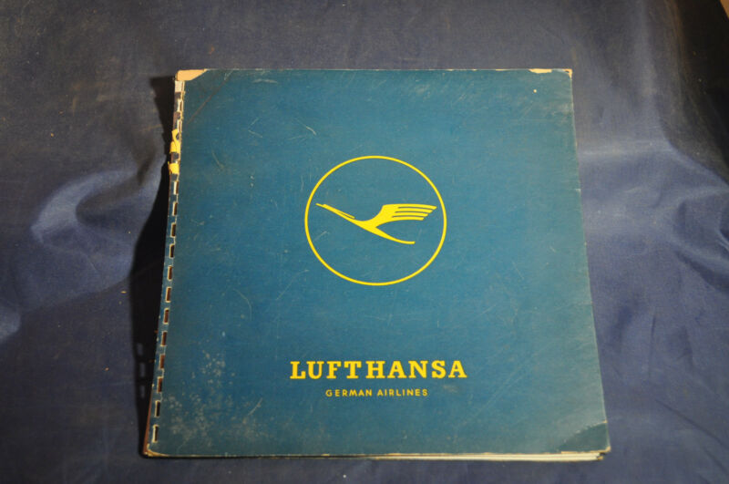 Ca 1956 *RARE* All About Lufthansa! Brochure