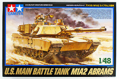 Tamiya 32592 USA M1A2 Abrams 1/48 scale kit