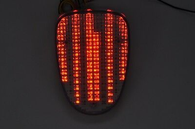 Brake Tail Light LED Smoke Integrated Turn Signal for Yamaha 1999-2003 Road Star