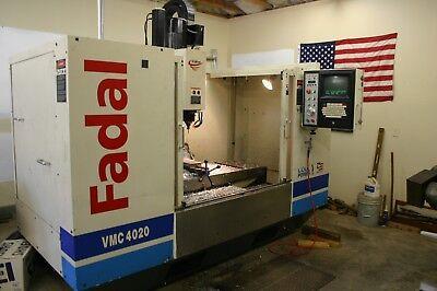 Fadal Vmc4020 Vertical Machining Center Price Reduced