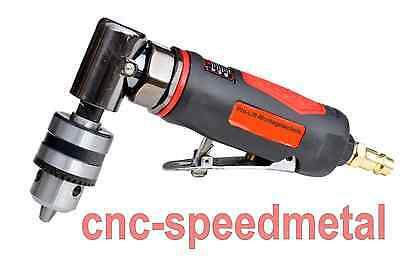 Winkelbohrmaschine 90° abgewinkelt , Futter 1-10mm , Bohrmaschine Druckluft r/sw