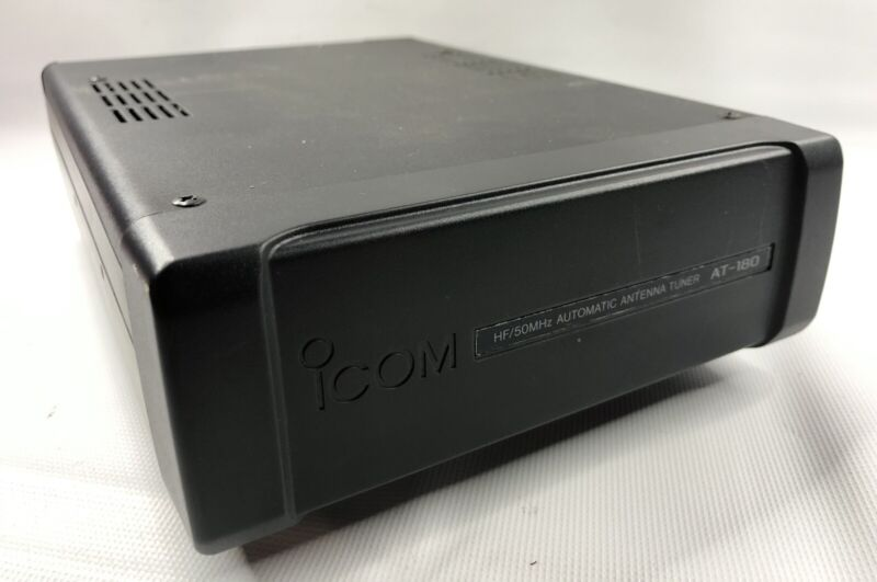 Icom AT-180 Automatic HF Antenna TunerFor 703 718 7000 & 706 Series Radios
