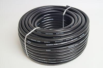 Druckluftschlauch 12,5 x 3,0 mm 50 m 50 bar schwarz Schlauch - X 12 Luft