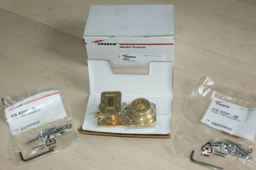 Andrew 190DE X Band 10 GHz EW90 WR90 Waveguide Transition Connector Assy New