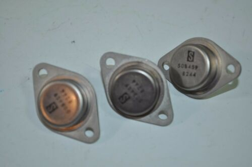 "NEW Lot of 3 Transistors - ""S"" Logo Part# 50B459 8244"