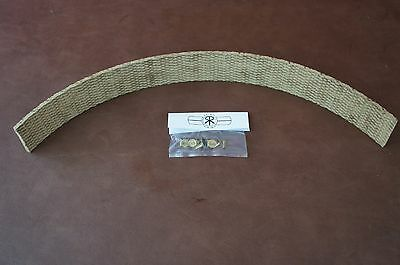 1.5 X 316 X 12 Lawn Garden Small Tractor Brake Band Re - Lining Rivets