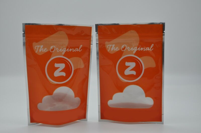 50 pack The Original Z Mylar Bags 7 gram