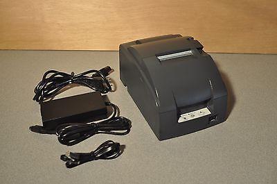 Epsonmicros Configured Idn Tmu220b Auto Cut Kitchen Printer 90 Day Warranty