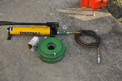 Enerpac P-39 Mud Pump Frac Pump Seat Vavle Puller Hydraulic Hollow Cylinder