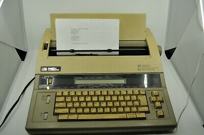 Smith Corona Xd 7800 Typewriter Word Processor - Model 5f - Tested