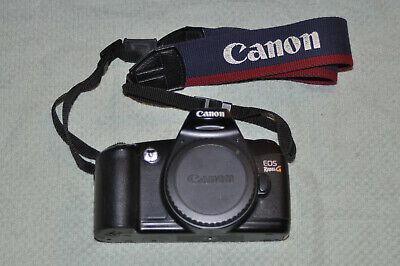 Canon Rebel G (500N) Black Camera Body w/Original Canon Strap