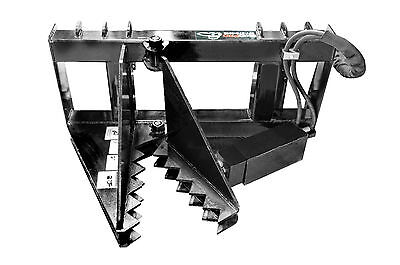 Extra Heavy Duty Tree Puller Skid Steer Loader Attachment Bobcat Gehl Jd Kubota