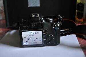 Canon EOS 500D Body and free 28-80mm lens