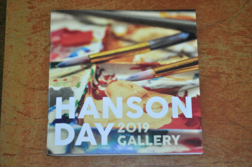 RARE Hanson Day 2019 Gallery Momento Painting Book! String Theory, In Real Life!