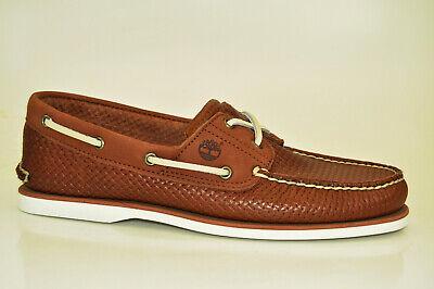 Classic 2 Eye Boat Shoe (Timberland Classic 2-Eye Boat Shoes Segelschuhe Deckschuhe Herren Schuhe A21HM)