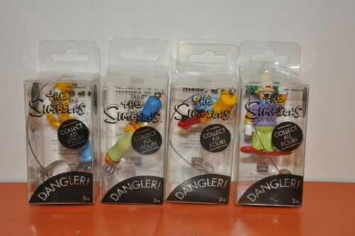 "RARE The SIMPSONS ""DANGLER SET"" by VIVID IMAGINATIONS of the U.K./1999-UNOPENED!"