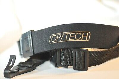 Op/Tech USA Soft adjustable Camera Strap Quick release for Nikon Canon vintage